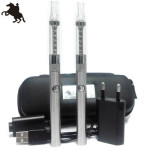 電子タバコ lrider(ライダー)社 400mAh slim cigarette Smart Lambo with changeable coil clear atomizer