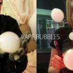 蒸気を吸うトリック101:ベイプバブル