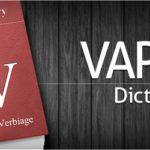 ベイプ辞書。