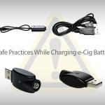 安全なバッテリー充電:安全な蒸気を吸うためのガイド